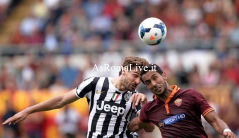 Roma-Juventus Benatia Llorente
