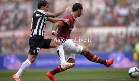 Roma-Juventus Benatia Tevez