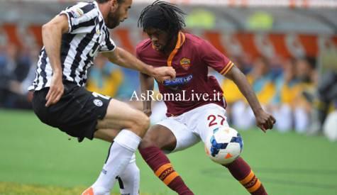 Roma-Juventus Gervinho