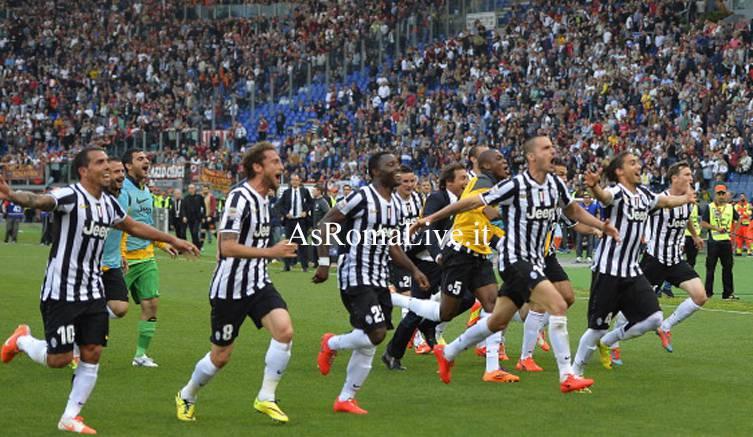 Roma-Juventus Juventus