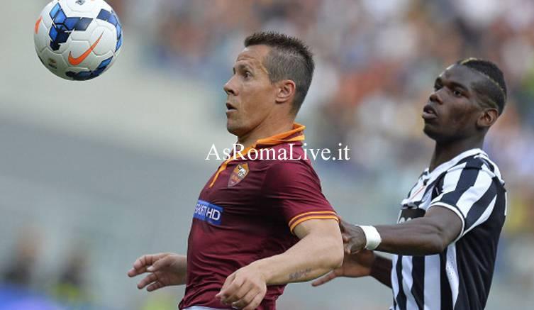 Roma-Juventus Taddei Pogba