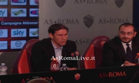 Rudi Garcia conferenza stampa