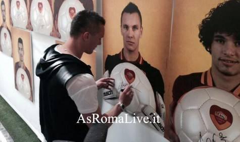 "Skorupski alla mostra ""Roma Ti Amo"""