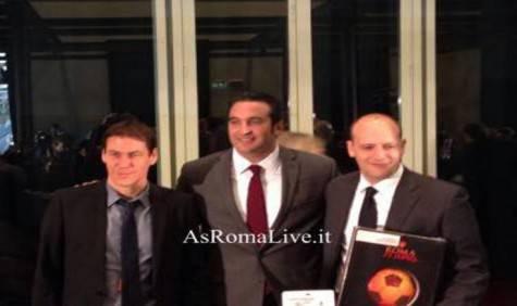 Italo Zanzi con Garcia e Baldissoni
