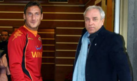 Mario Brozzi e Francesco Totti