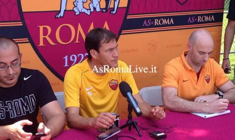 As Roma Tour Usa Garcia Conferenza 2