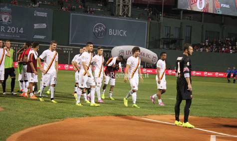 Roma Liverpool Tour Usa