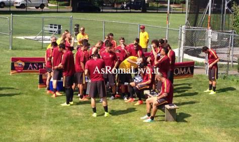 Tour As Roma Usa Squadra
