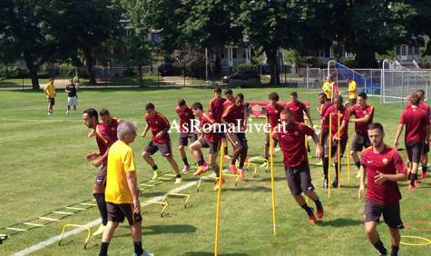 Tour As Roma Usa Squadra Paletti 3