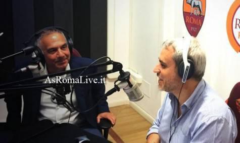 Pallotta ai microfoni di Roma Radio