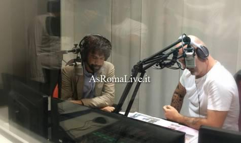 Tommasi negli studi di Roma Radio