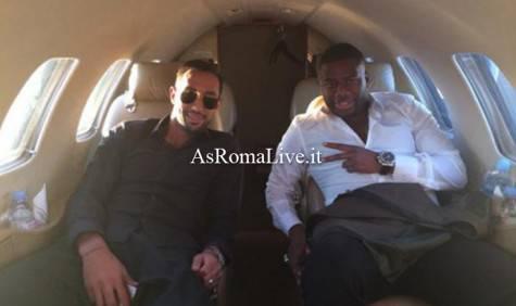 Benatia ed il suo agente Sissoko in partenza per Monaco