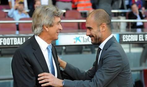 Pellegrini e Guardiola