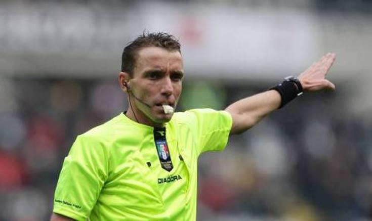 Arbitro Lazio-Roma