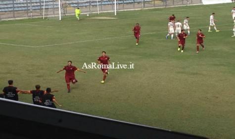 Roma Primavera Cska Mosca gol Adamo