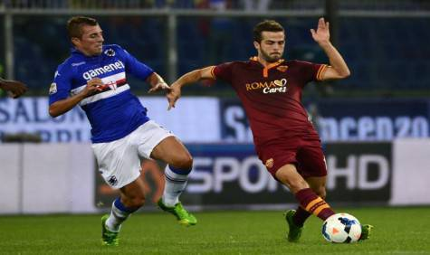 Sampdoria-Roma Pjanic