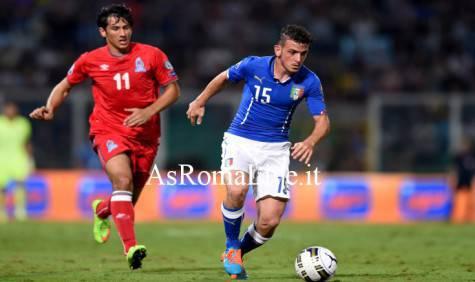 Florenzi con la Nazionale