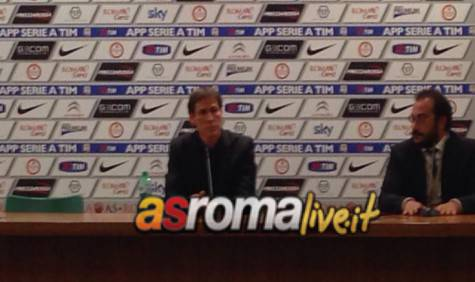 Garcia in conferenza post-Cesena