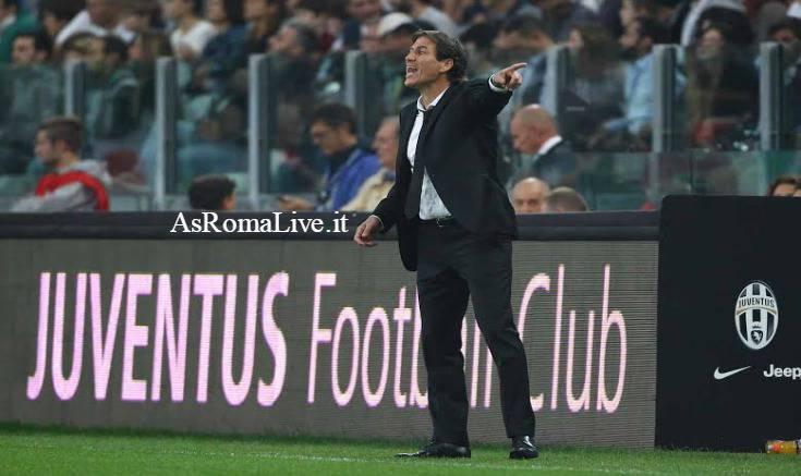 Juventus-Roma Garcia
