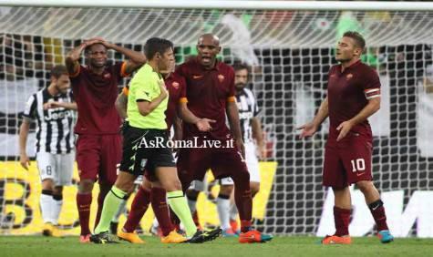 Juventus-Roma proteste 2