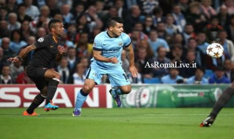 Manchester City-Roma Cole