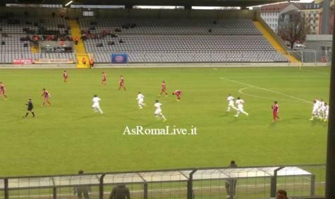 Bayern Monaco-Roma Primavera festeggiamenti gol Sanabria