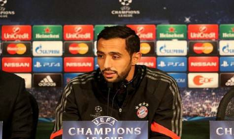 Benatia in conferenza stampa