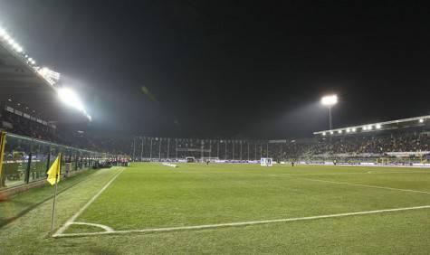 Lo stadio Atleti Azzurri d'Italia