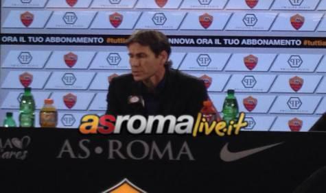 Garcia in conferenza