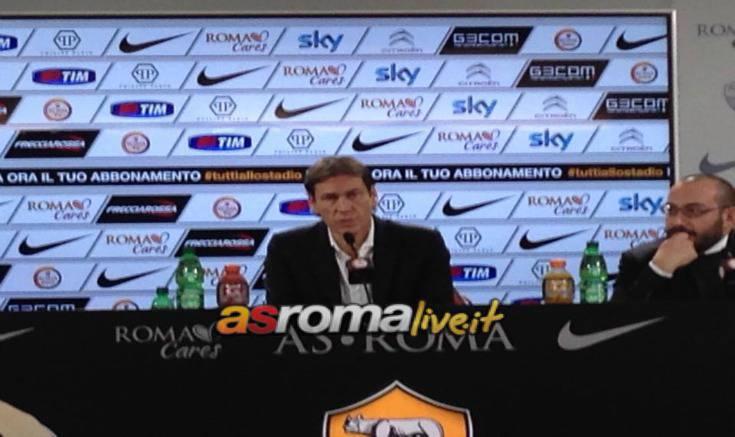 Garcia conferenza Genoa-Roma