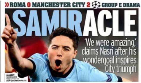 Roma-Manchester City Mirror