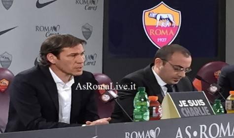 Rudi Garcia in conferenza