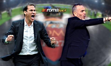 Roma-Lazio Pioli Garcia