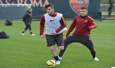 Manolas e Paredes (foto asroma.it)