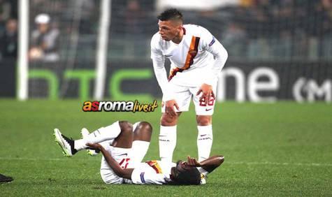 Roma-Feyenoord Holebas Gervinho