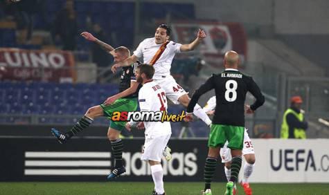 Roma-Feyenoord Manolas De Rossi