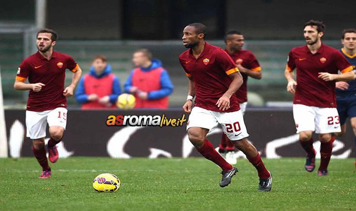 Verona-Roma azione Keita