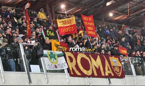 Cesena-Roma tifosi Roma