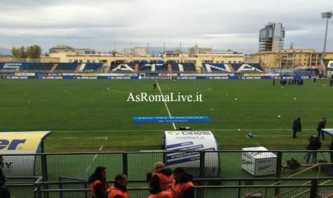 Primavera Roma-Man City stadio Francioni