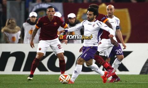 Roma-Fiorentina Salah