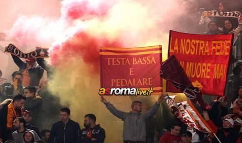 Roma-Fiorentina tifosi