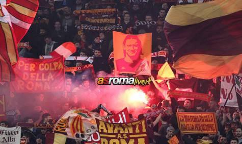 Roma-Juventus tifosi Roma