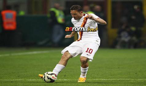 Inter-Roma Francesco Totti