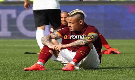 Roma-Atalanta Nainggolan fine partita