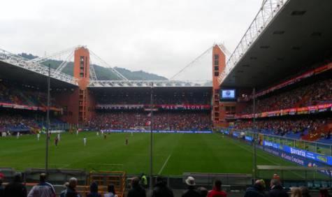Lo stadio di Marassi