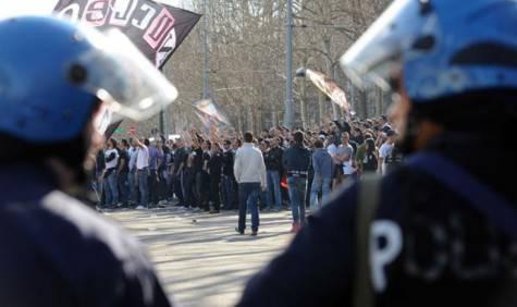 Gli scontri di Torino
