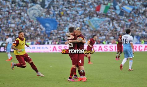 Lazio-Roma Pjanic e Nainggolan