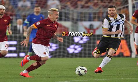 Roma-Udinese Nainggolan