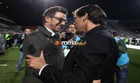 Sassuolo-Roma Di Francesco e Garcia