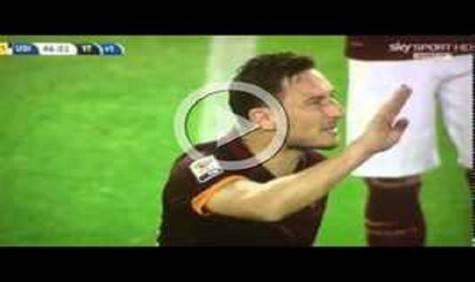 Totti Roma Udinese